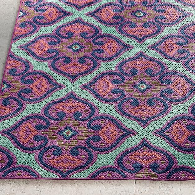Calypso Tile Outdoor Rug Patio Outdoor Rugs Outdoor Deck Furniture