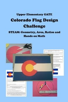 STEAM Geometry, Area, Ratios, Hands-on Math COLORADO FLAG ...