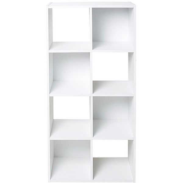 8 Unit Bookshelf White Target Australia 29 Liked On Polyvore Featuring Home Furniture Storage Shelves Bookcases