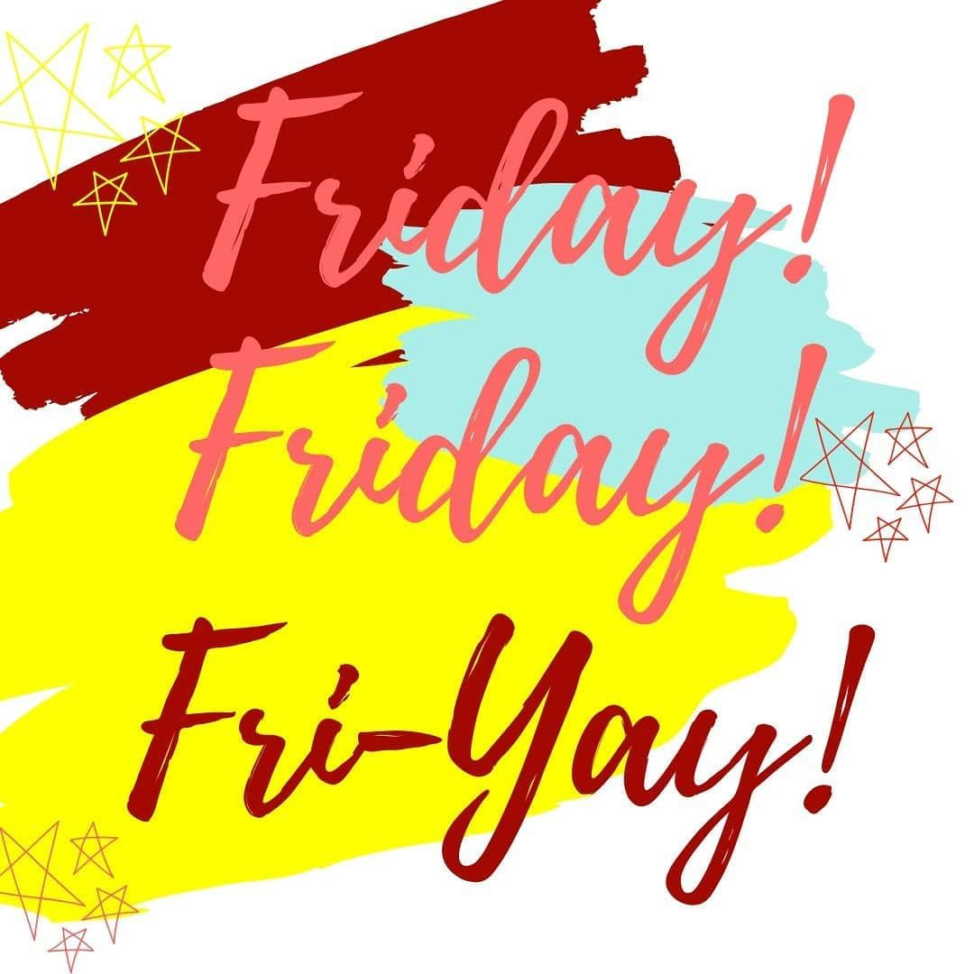 So it's FriYay! Half Term is here! We have completed our