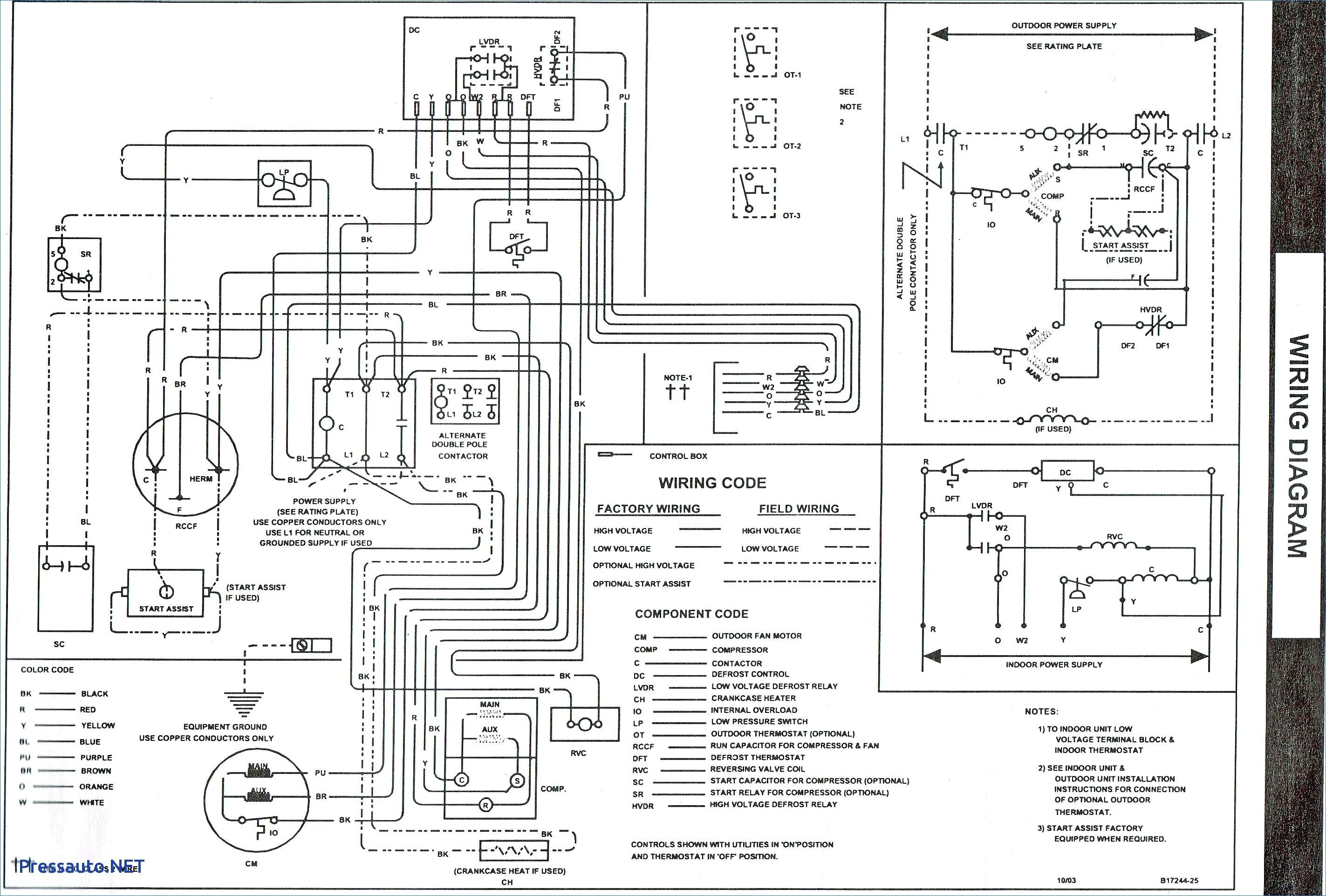 Unique Wiring Diagram For Goodman Gas Furnace Diagram
