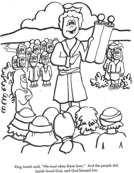 The King Joash - Printable - SundaySchoolist