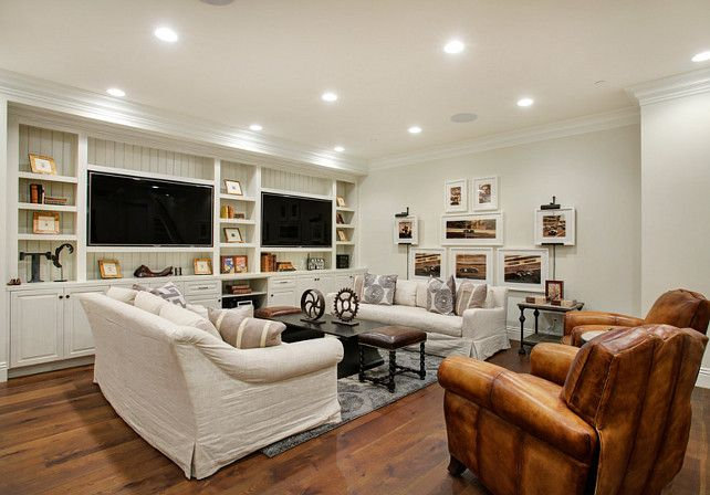Basement Living Room Designs Mesmerizing 20 Awesome Basement Living Spaces  Basement Living Rooms Decorating Design