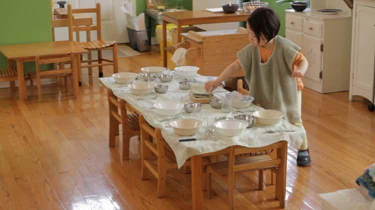 Hazel Sets the Table