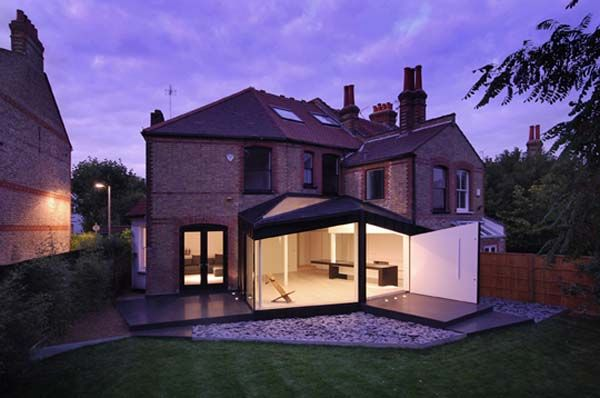 Modern Glass Extensions modern extension on old victorian house | something old and