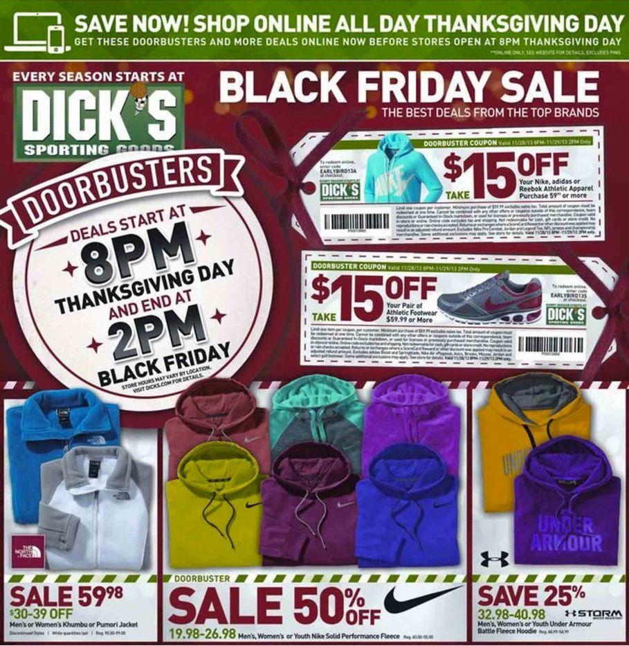 Dicks Sporting Goods Black Friday 2013 Ad Black Friday