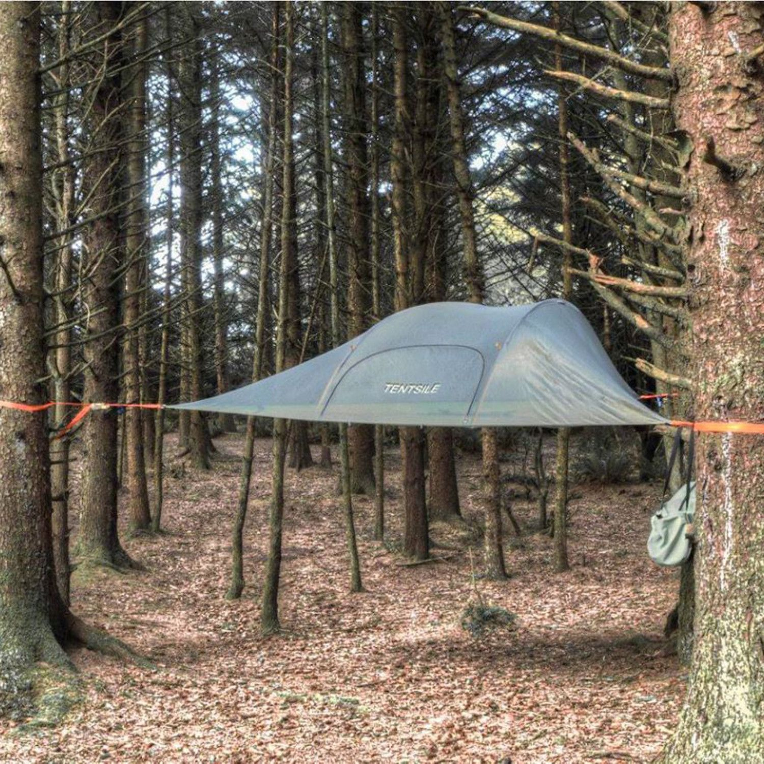 The Tentsile Stingray is a three person tree tent (a.k.a. portable treehouse) that offers & The Tentsile Stingray is a three person tree tent (a.k.a. portable ...