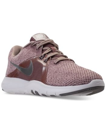 Nike Women s Flex Trainer 8 Premium Training Sneakers from Finish Line -  Brown 6.5 c8e6f53d69