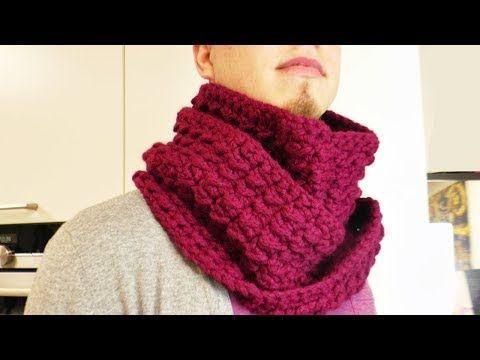 Häkeln Loop Schal | Winter Schal (auch) für Männer | Tollen Muster ...