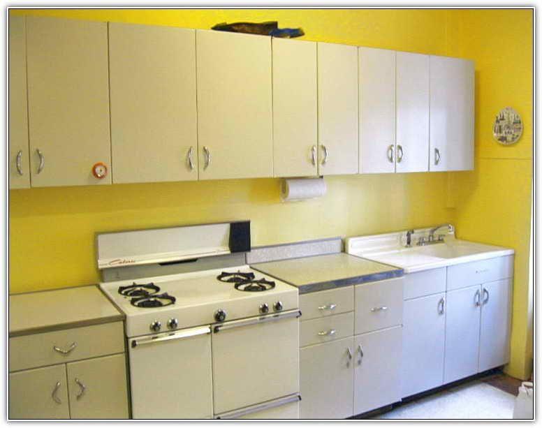 Metal Kitchen Cabinet Makeover Interior Desain Interior Desain Interior Rumah
