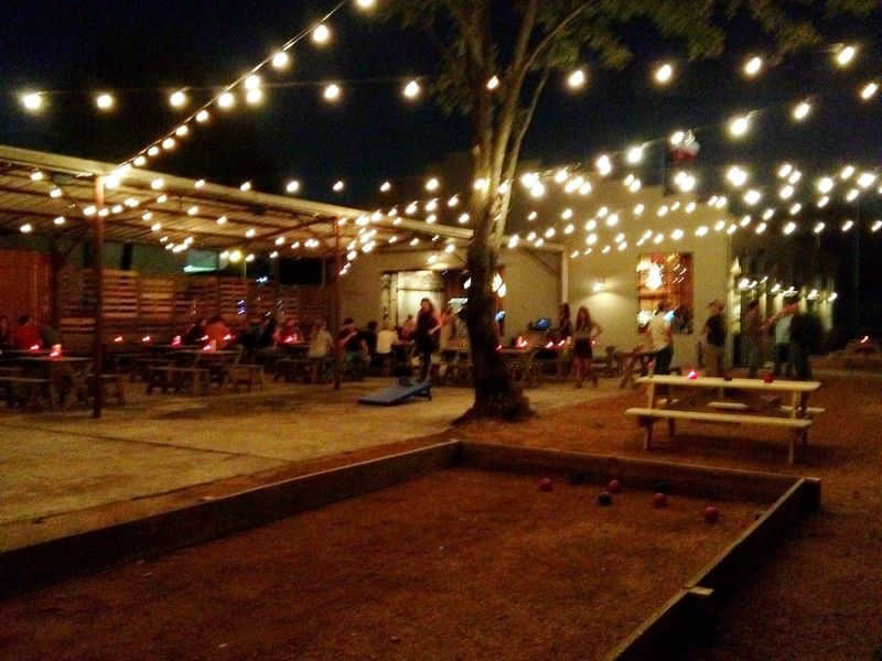 Garden Oaks gets an Austin vibe with bocce beer live music at