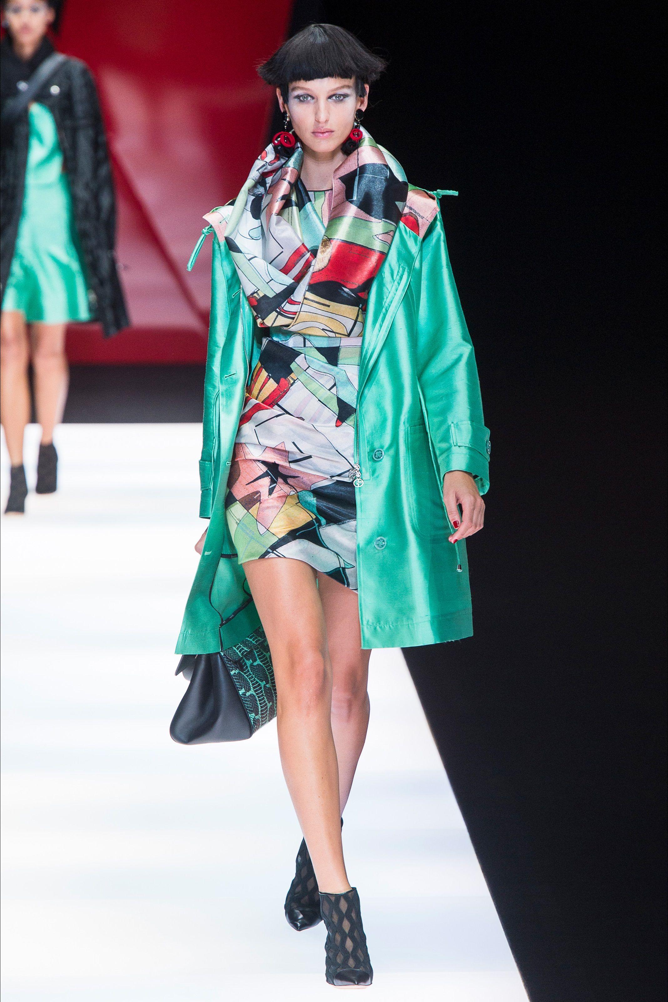 9b2132bb8b3c Sfilata Giorgio Armani Milano - Collezioni Primavera Estate 2018 - Vogue