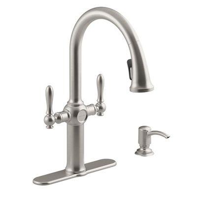 Kohler Kitchen Faucets.Kohler Kitchen Faucet R24937 Sd Vs Neuhaus Vibrant Stainless 2