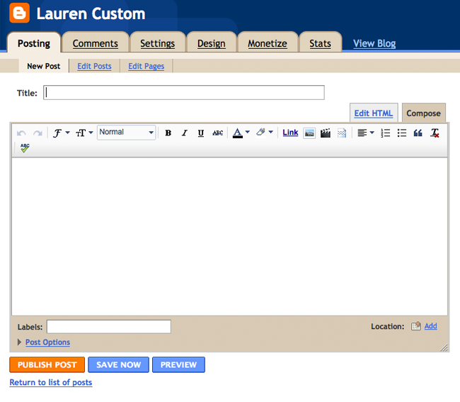 Tutorial: Using the Toolbar in Compose Mode for Blogger - Blogger ...