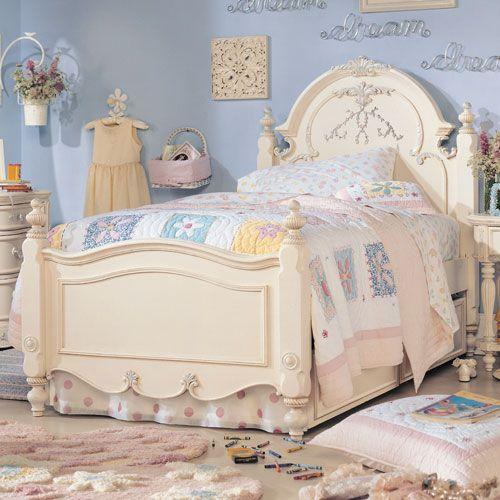 Romance Panel Bed Girls Bedroom Sets Little Girls Bedroom Sets Bedroom Furniture Design