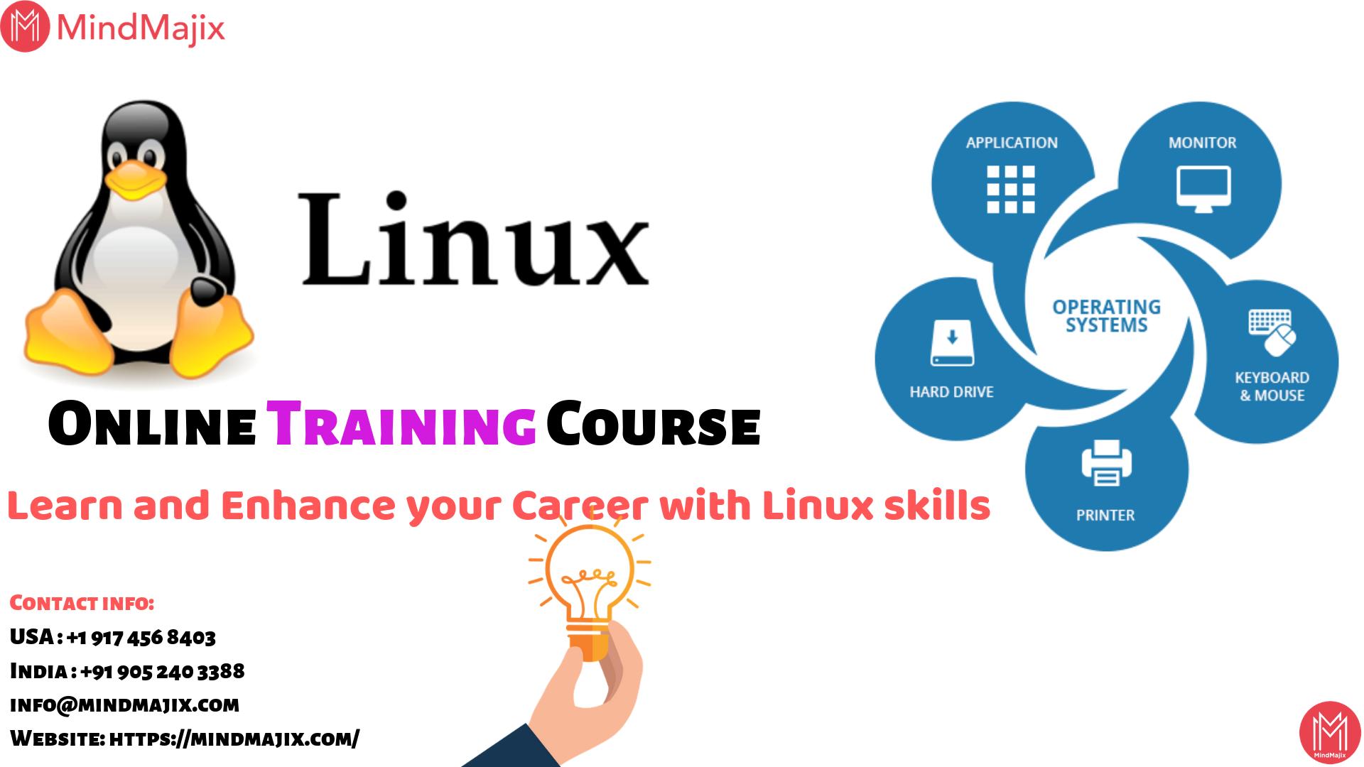 Linux Online Training Course Mindmajix Online Training Courses Online Training Training Courses