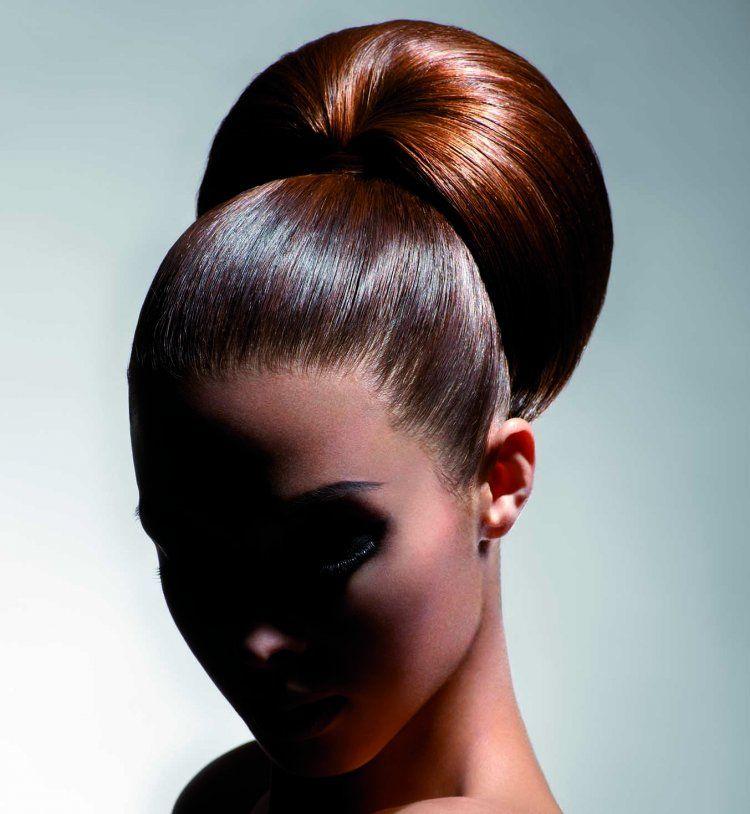 Idée coiffure de mariage : un chignon XXL