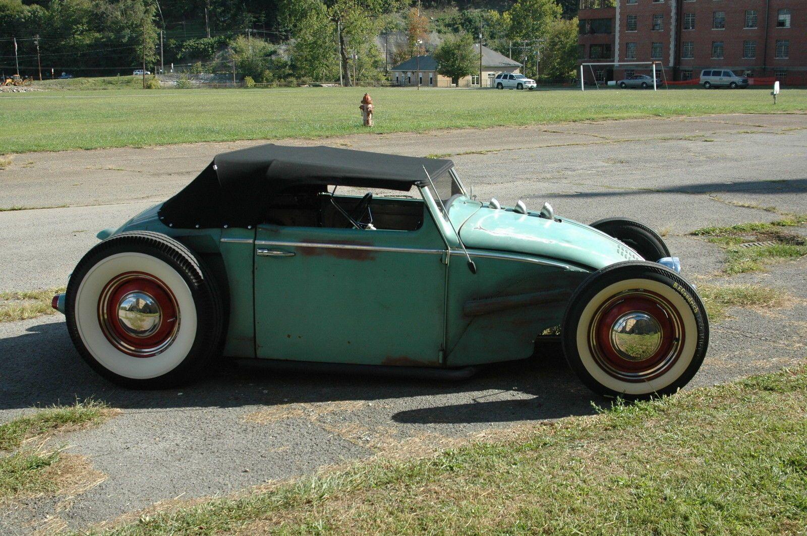 Old VW Beetle Rat rod... that Audi TT looking chop top gives it s ...