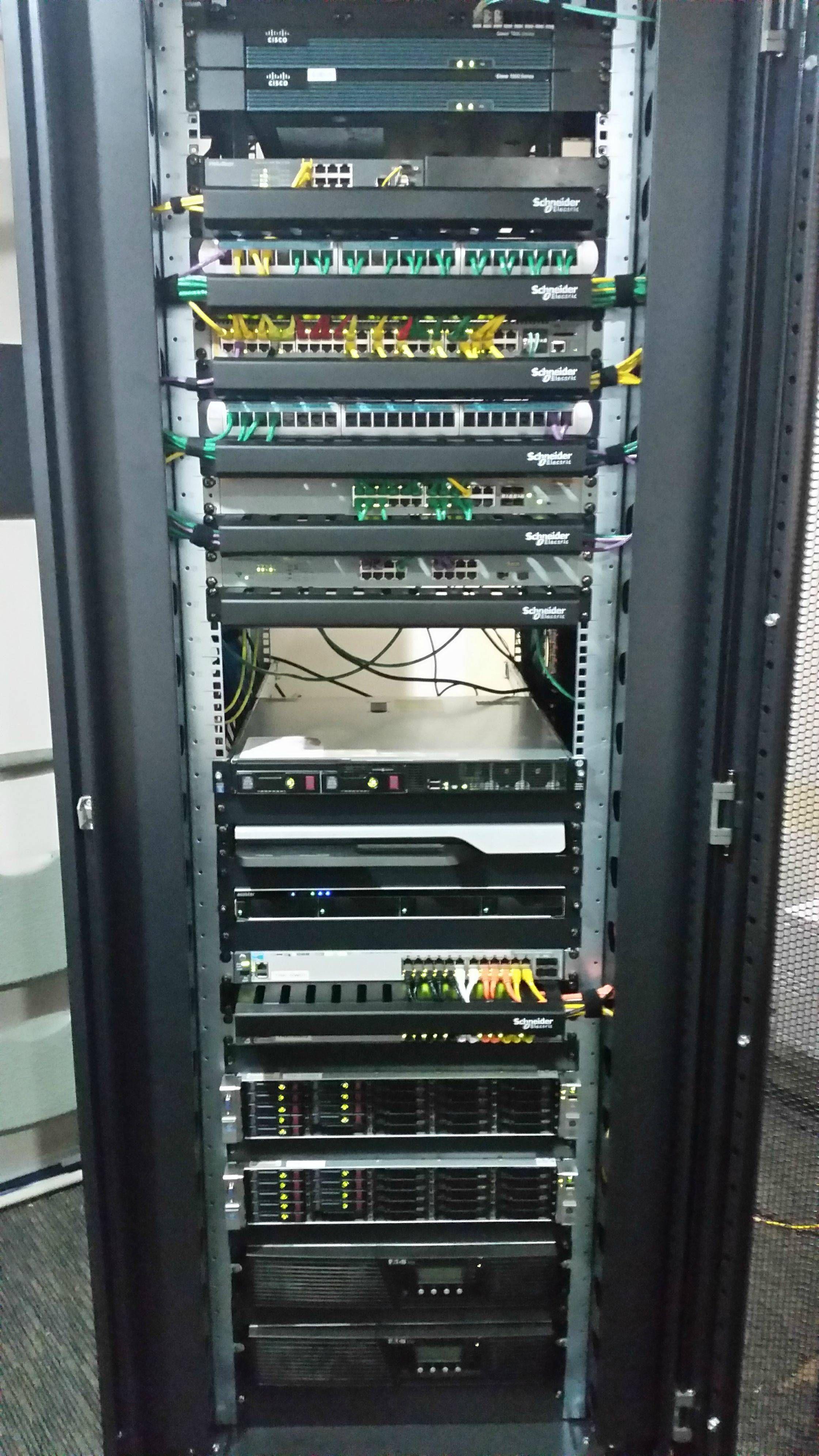 server cabinet server