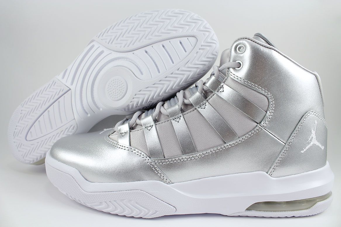 Girls Youth Nike WhiteBlack Air Jordan 10 Retro Shoes