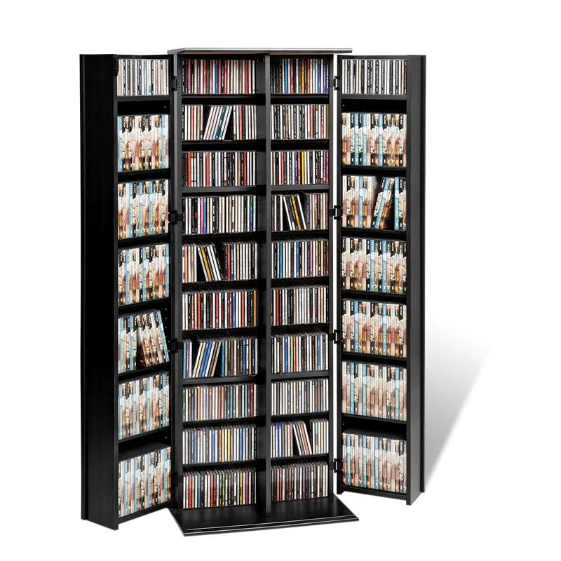 Cataleya 2 Door Storage Cabinet Dvd Storage Cabinet Media Storage Cabinet Prepac