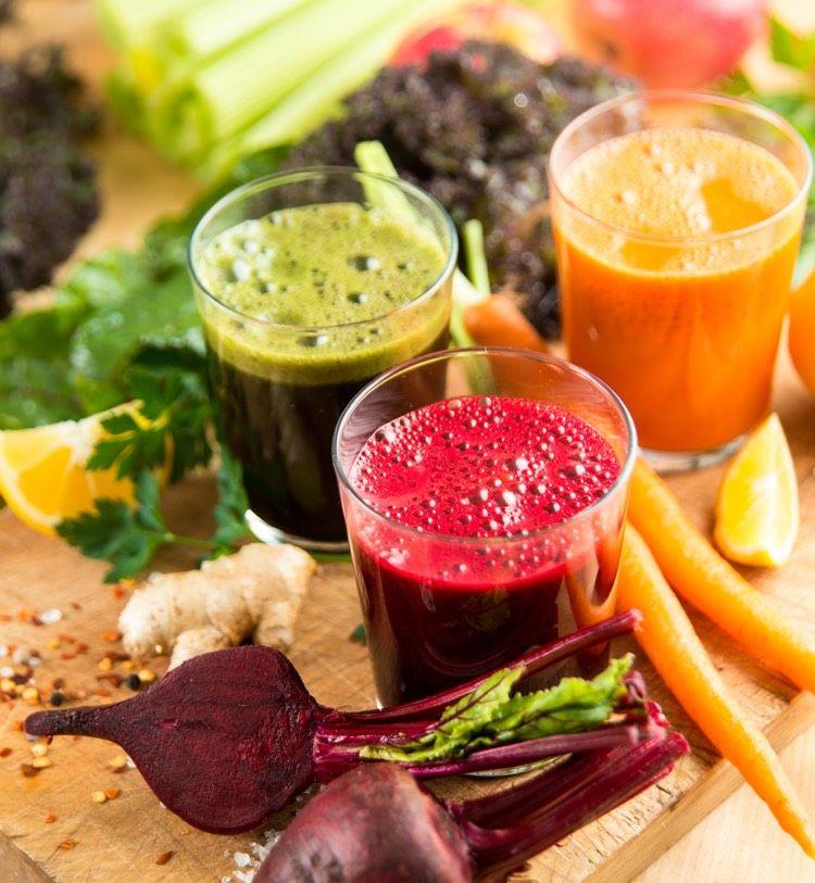 Detox Plan für 5 Tage inkl. Rezepte und Einkaufsliste – kostenlos #juicefast
