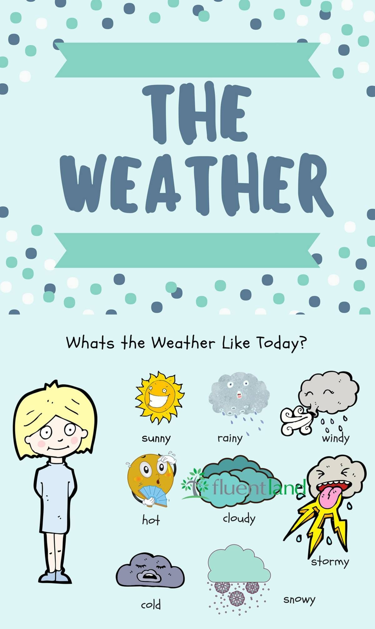 Useful Weather Words And Phrases