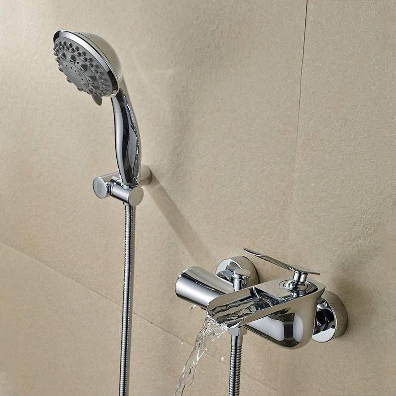 Bathtub Faucets Chrome Bath Shower Set White Shower Set Bathtub