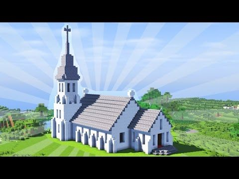How to build a minecraft church creative building youtube how to build a minecraft church creative building youtube malvernweather Choice Image