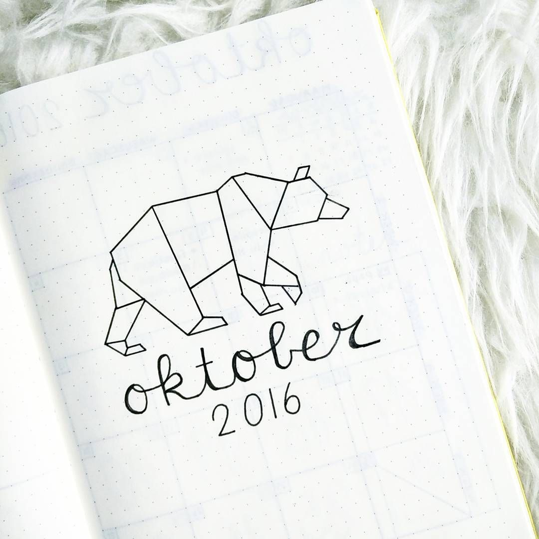 "@lynniewinny on Instagram: ""Owh hello October, are you there already? I guess it's time to plan next month's spreads... #bulletjournal #bujo #bulletjournaling…"""