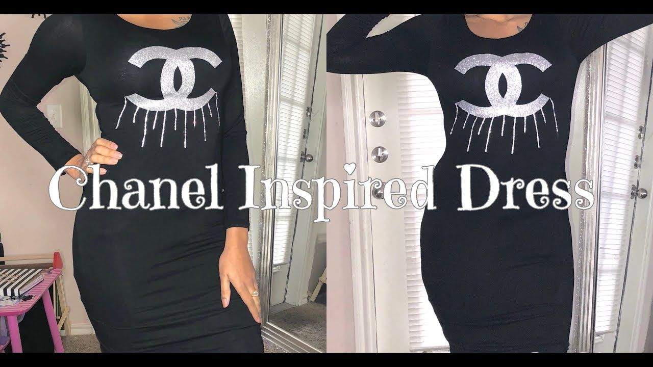 Chanel Inspired T Shirt Dress