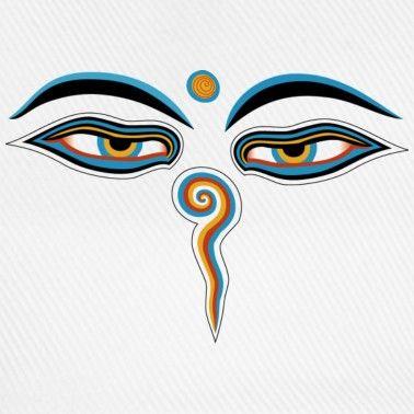 Buddha eyes..Im watching you.