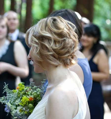 Tremendous 1000 Images About Wedding Hair On Pinterest Short Hairstyles Short Hairstyles Gunalazisus
