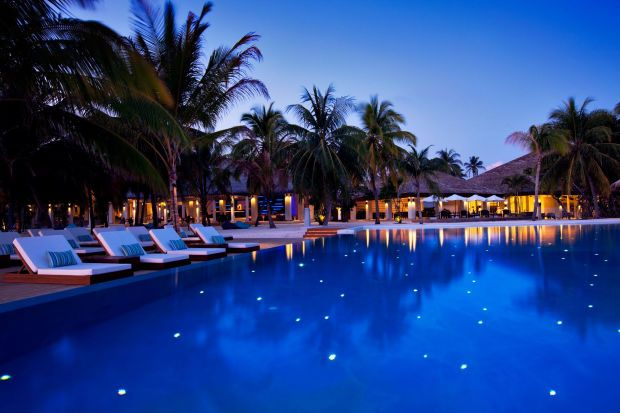 This Island Resort In The Maldives Is The Definition Of Paradise - Island resort maldives definition paradise