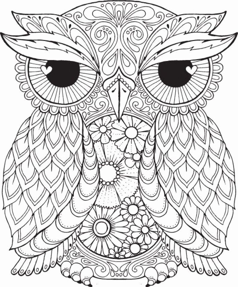 Free Printable Mandala Coloring Pages For Adults In 2020 Owl Coloring Pages Mandala Coloring Pages Animal Coloring Pages