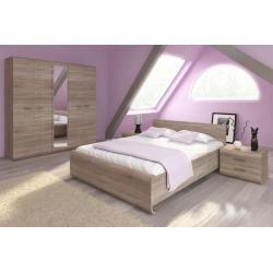 Photo of Bedside table Gabes 16, color: Oak Sonoma – 46 x 60 x 42 cm (H x W x D) Easy furniture