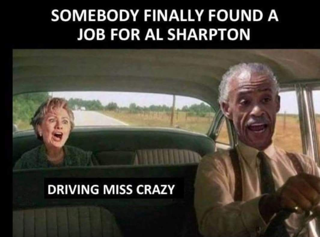 Necessary words... al sharpton is an asshole