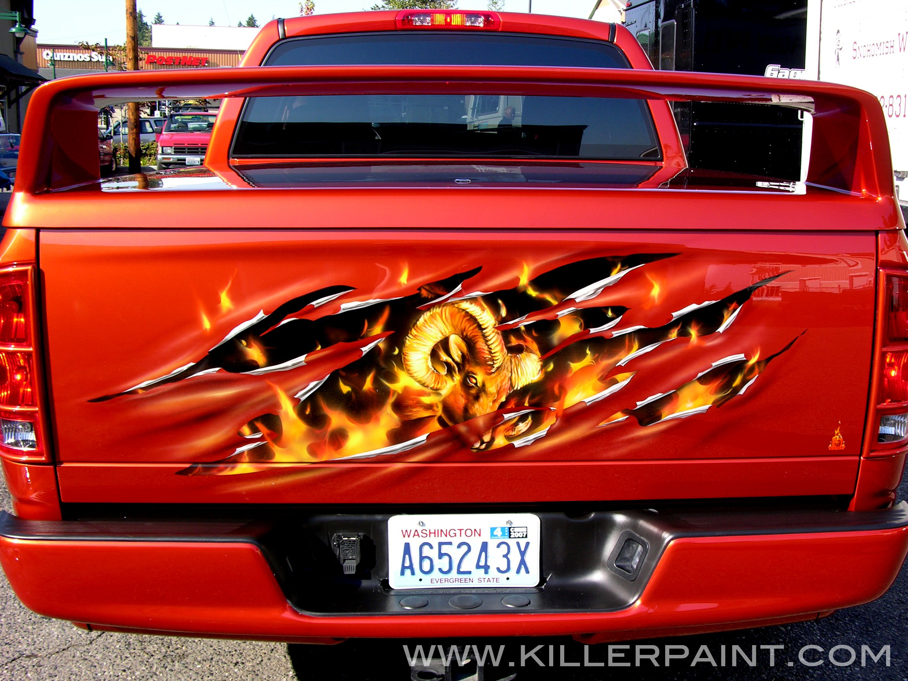 Ram painted tailgate google search for my truck pinterest ram painted tailgate google search sciox Choice Image