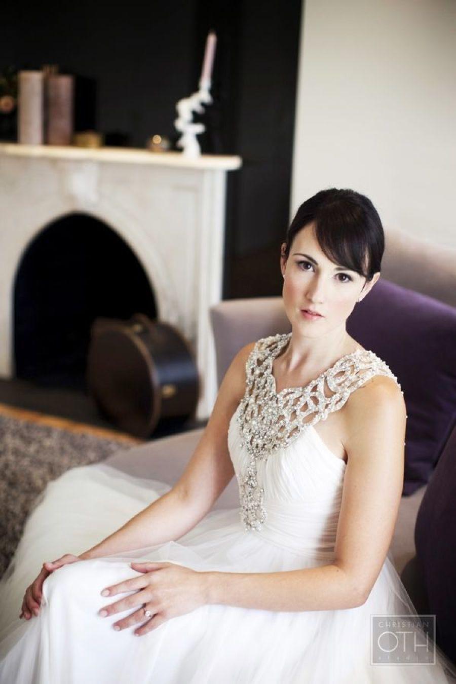 Glamorous city wedding by christian oth studio vaulting wedding