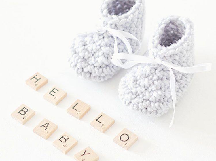 Diy Anleitung Einfache Babyschuhe Häkeln Gratis Schritt Für