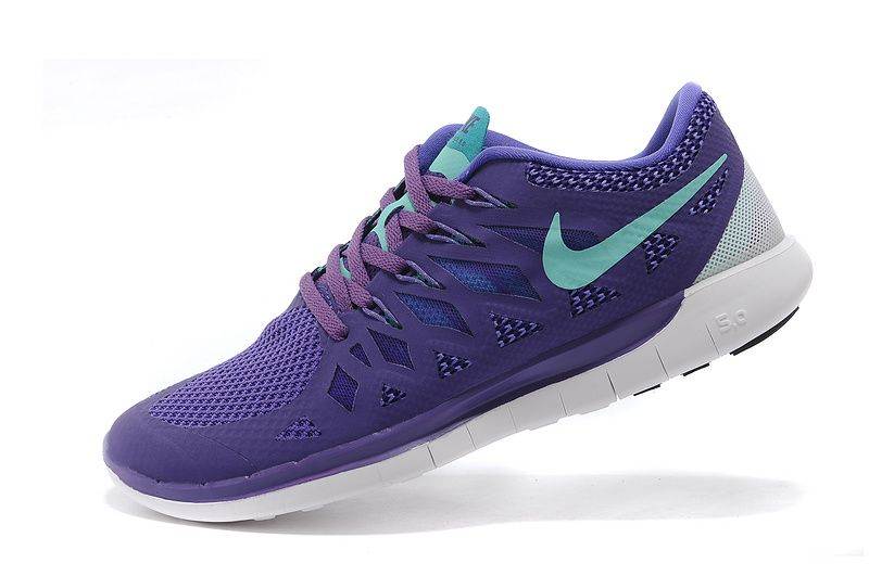 Nike Free 5.0+ 2014 Mens Game Purple Light Blue #Cheap #purple #products