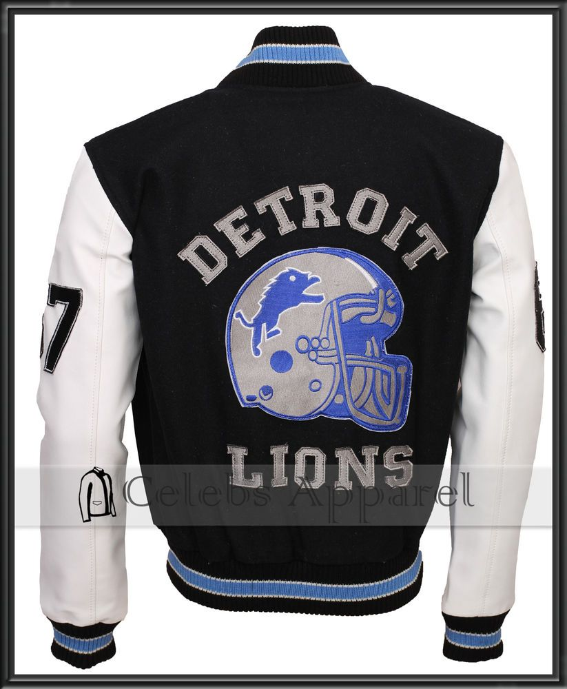 Beverly Hills Cop Detroit Lions Vintage Mens Varsity Jacket Mensjacket Varsityjacket Detroitlions Varsity Jacket Men Jackets Men Fashion Leather Jacket Men