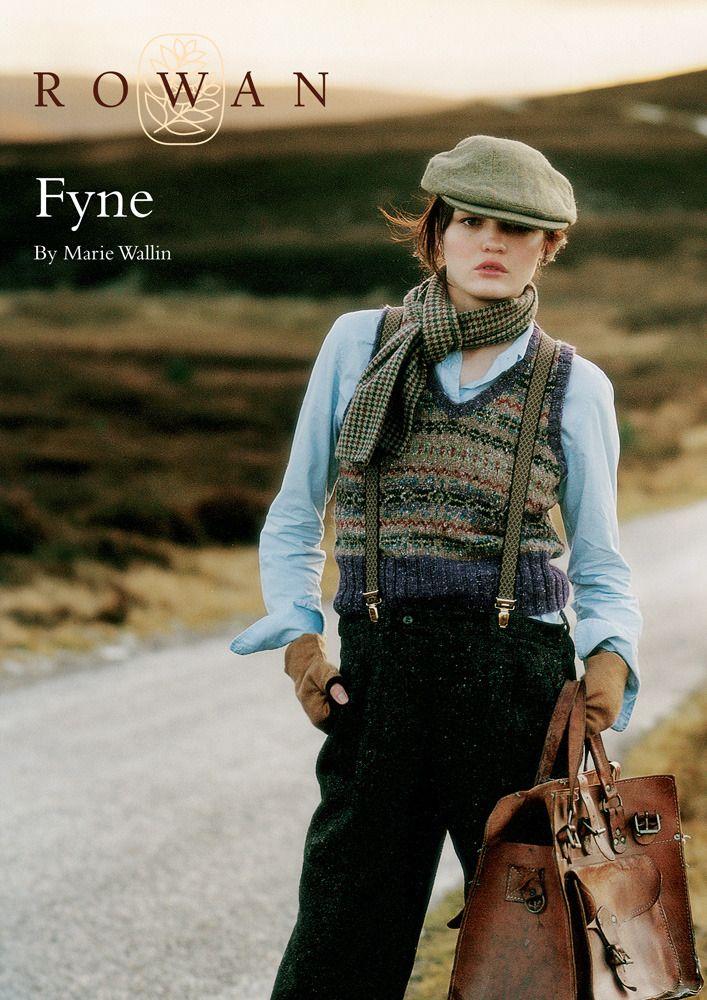 Fyne Slipover in Rowan Felted Tweed DK | Knitting inspiration ...