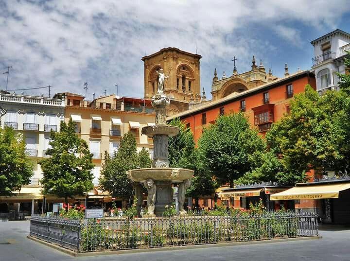 Plaza Bib Rambla  (Granada) España