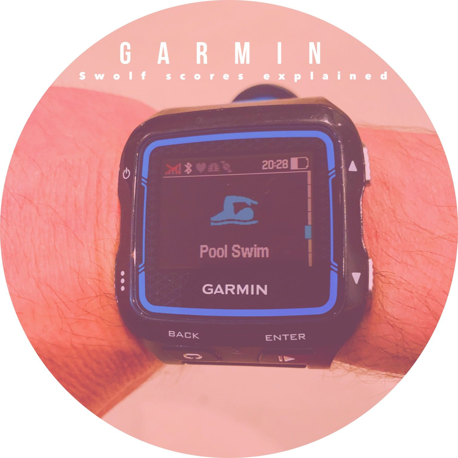What is Garmin's SWOLF score is the topic of our blog this