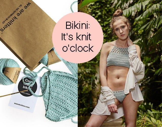 Du suchst einen neuen Bikini ? Dann habe wir eine großartige Idee. Warum nicht mal schick in Strick ! Mehr dazu findet ihr auf fashion fika..