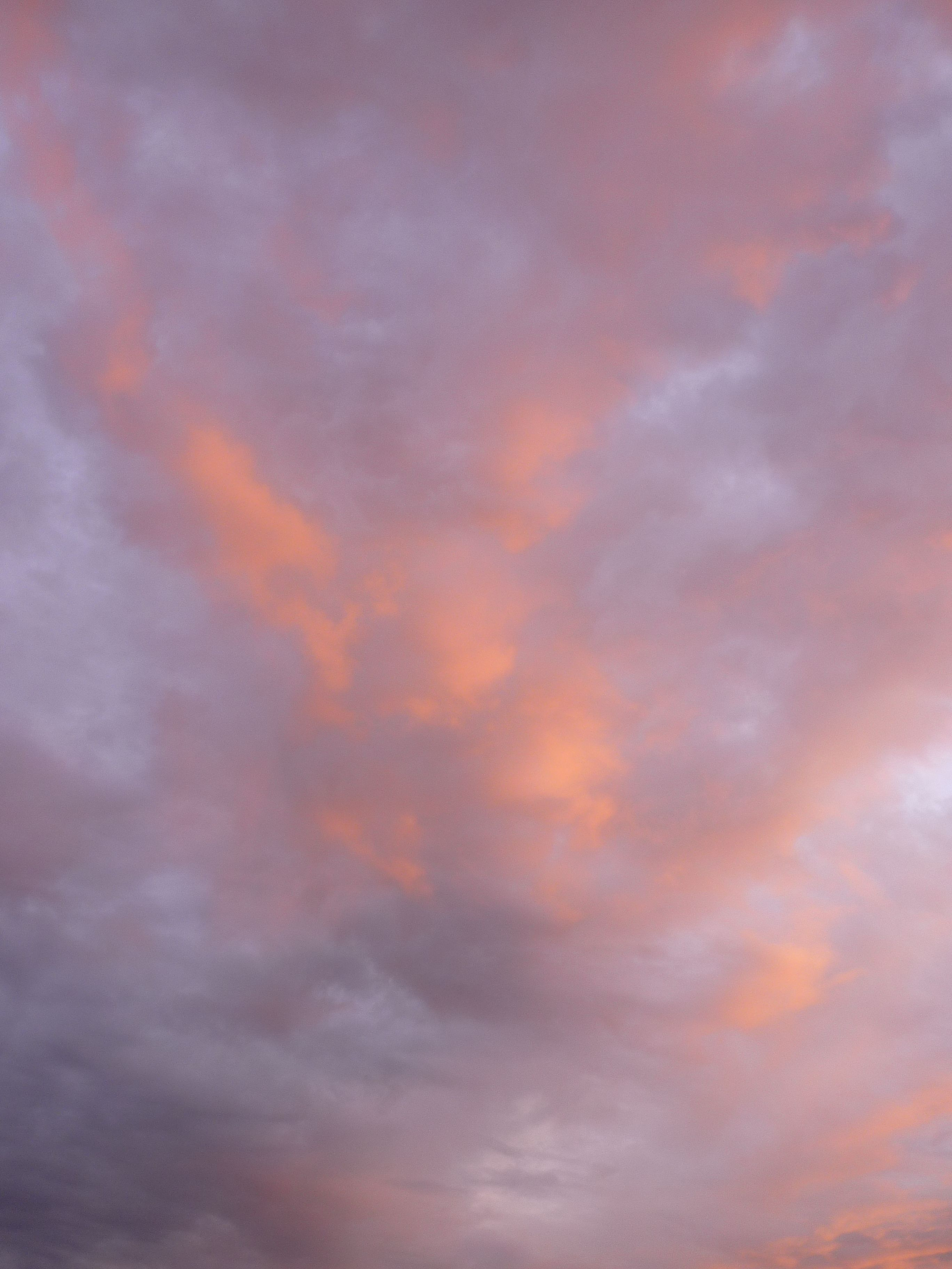 2013 sept - pink clouds