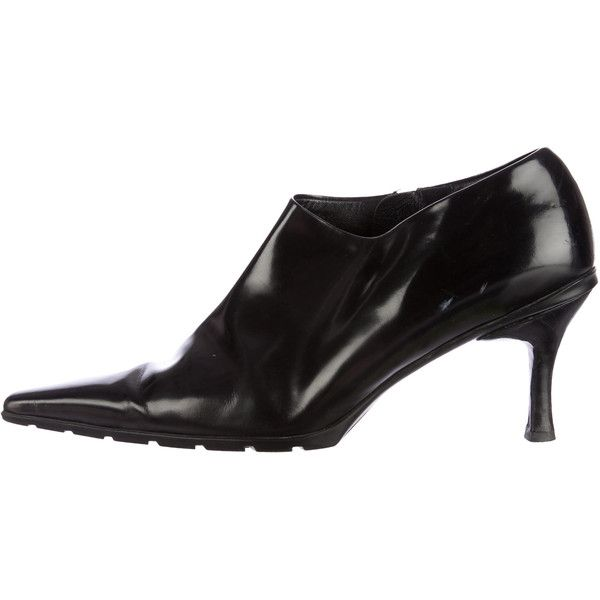 Prada Patent Leather Pointed-Toe Boots discount 2014 newest kcCQZbv