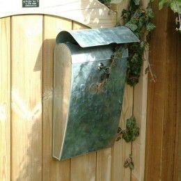 Post Box - Galvanised