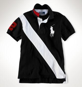 Camisas Bande Polo Custom Polo Ralph Big Oblique Lauren Pony Fit z1aqPv